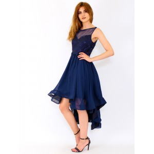 Mullet Chiffon dress